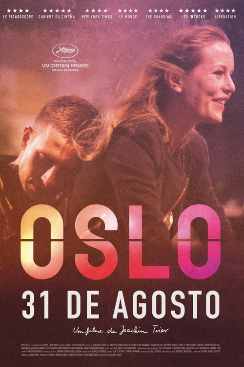 "Poster for the movie ""Oslo, 31 de Agosto"""