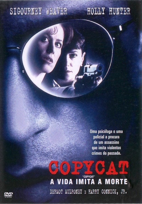 "Poster for the movie ""Copycat - A Vida Imita a Morte"""