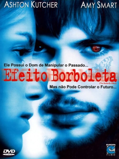 "Poster for the movie ""Efeito Borboleta"""