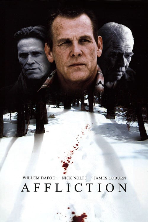 "Poster for the movie ""Affliction"""