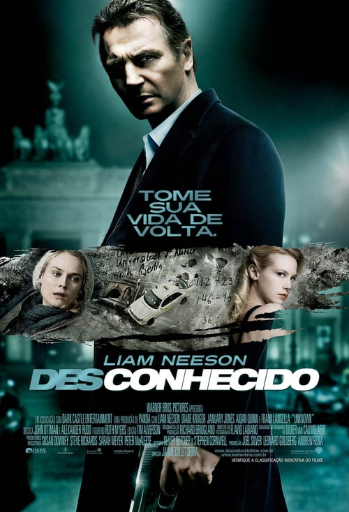 "Poster for the movie ""Desconhecido"""