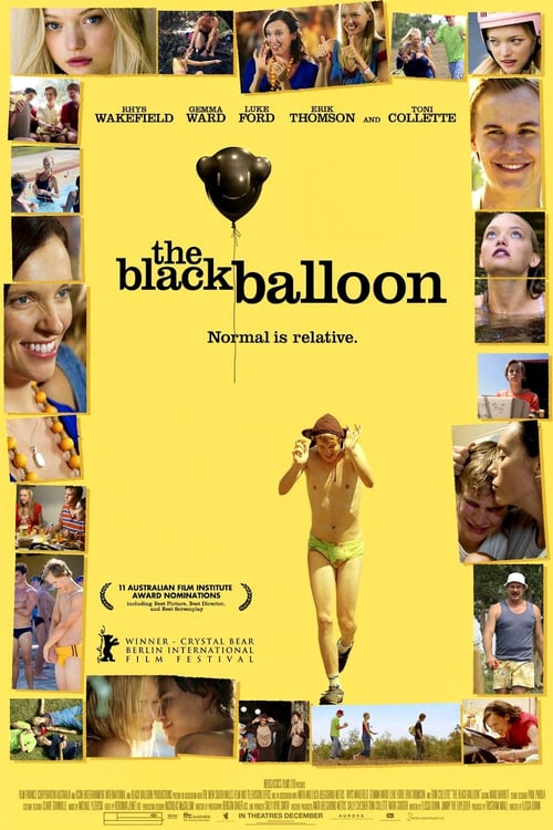 "Poster for the movie ""The Black Balloon"""