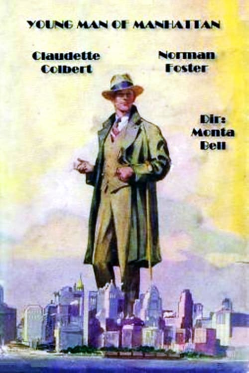"Poster for the movie ""Young Man of Manhattan"""