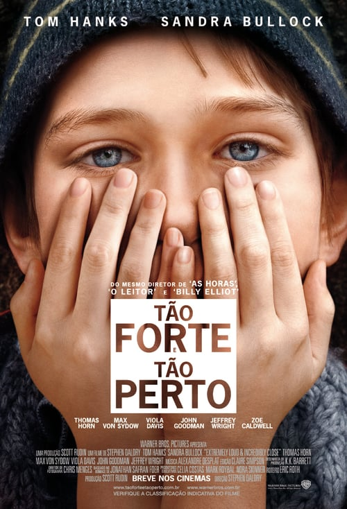 "Poster for the movie ""Tão Forte e Tão Perto"""